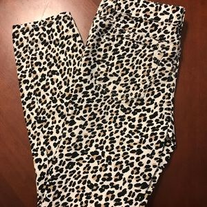 ❤️PLACE❤️ leopard pants